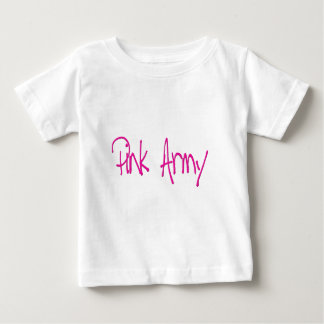 Pink Army representing women of the army! Baby T-Shirt
