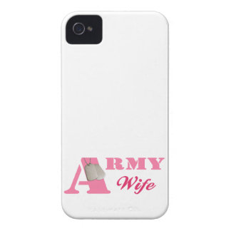 Pink Army Wife Blackberry Bold Case