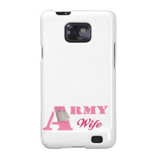 Pink Army Wife Samsung Galaxy S Case Samsung Galaxy SII Cover