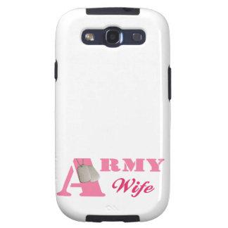 Pink Army Wife Samsung Galaxy S Case Samsung Galaxy S3 Cases
