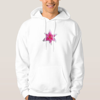 Pink Asiatic Lily Hoodie