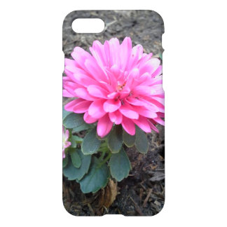 Pink Aster Flowers iPhone 7 Case