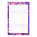 Pink Aster Stationery