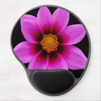 Pink Asteraceae Gel Mouse Pad