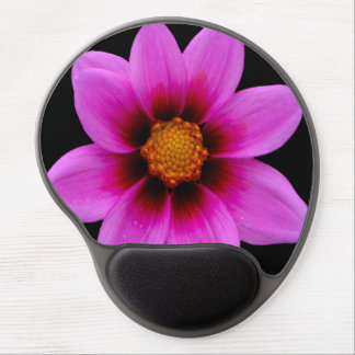 Pink Asteraceae Gel Mouse Mats