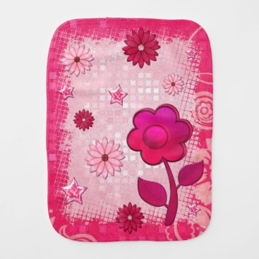 Toddler & Baby themed Pink at Play Jeweled Burp Cloth