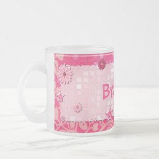 Pink at Play Jeweled PERSONALIZED Mugs