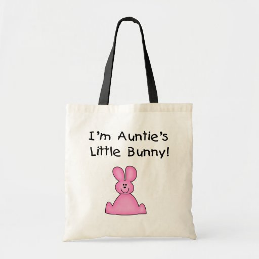 Pink Auntie's Little Bunny T-shirts and Gifts Bag