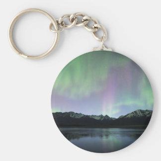 Pink Aurora Keychain