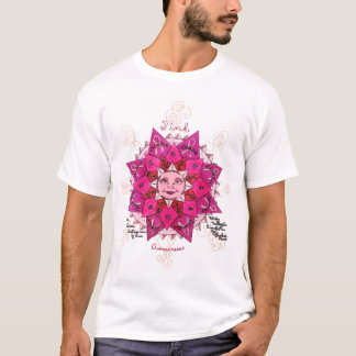 Pink Awareness Ladies EDUN LIVE T-Shirt