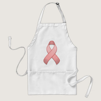 Pink Awareness Ribbon Apron