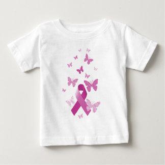 Pink Awareness Ribbon Baby T-Shirt