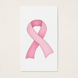 Pink Awareness Ribbon Business Cards 0001