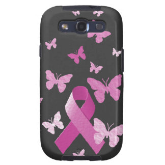 Pink Awareness Ribbon Galaxy S3 Cover