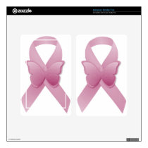 Pink Awareness Ribbon Decal For Kindle Fire