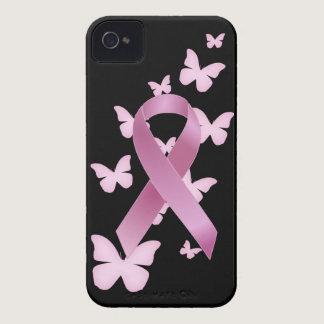 Pink Awareness Ribbon iPhone 4 Case-Mate Case
