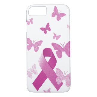 Pink Awareness Ribbon iPhone 8/7 Case