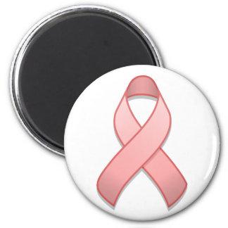 Pink Awareness Ribbon Magnet