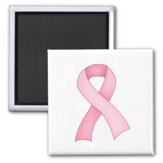 Pink Awareness Ribbon Magnet 0001