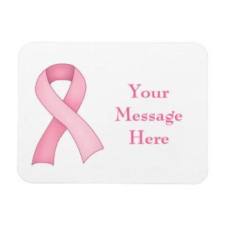 Pink Awareness Ribbon Magnet 0004