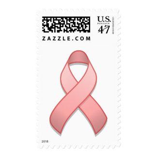 Pink Awareness Ribbon Postage