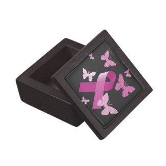 Pink Awareness Ribbon Premium Gift Box