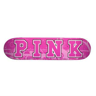 Pink Awareness Skate Board Deck