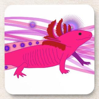 Pink Axolotl Coaster