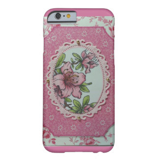 Pink azalea barely there iPhone 6 case