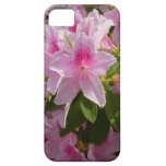Pink Azalea Bush Spring Flowers iPhone SE/5/5s Case