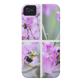 Pink Azalea Collage Case-Mate iPhone 4 Case