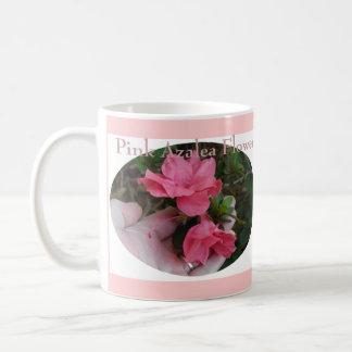 Pink Azalea Flower Coffee Mug
