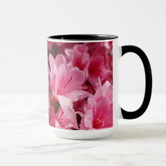 Pink Azalea Flower Mug