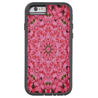 Pink Azalea Flowered Fractal iPhone 6 Case