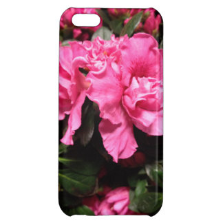 Pink Azalea Flowers Cover For iPhone 5C