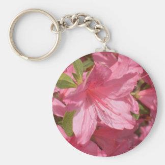 Pink Azalea Keychain