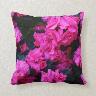 Pink Azalea Pillow