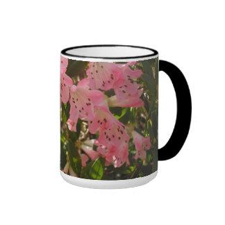 Pink Azalea Ringer Mug