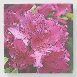 Pink Azalea Stone Coaster