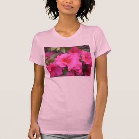 pink azalea tshirt