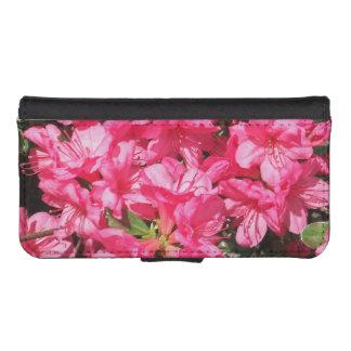 Pink Azalea Wallet Phone Case For iPhone SE/5/5s
