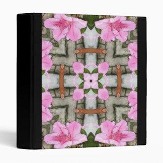 Pink Azaleas 1E kaleidoscope10 Binder