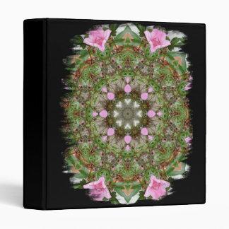 Pink Azaleas 1E kaleidoscope12 Vinyl Binders