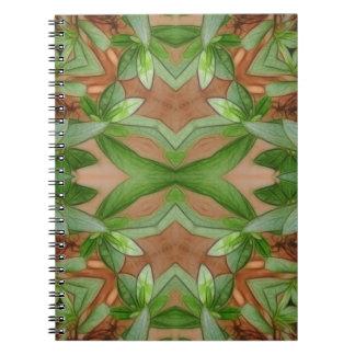 Pink Azaleas 1E kaleidoscope 1 Notebooks