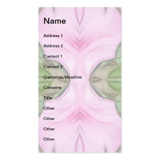 Pink Azaleas 1E kaleidoscope 2 Business Card
