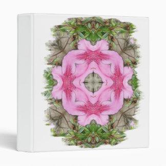 Pink Azaleas 1E kaleidoscope 9 Binders