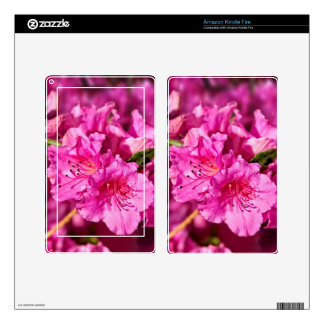Pink Azaleas Decals For Kindle Fire