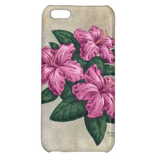 Pink Azaleas Flower Art iPhone 5C Cases