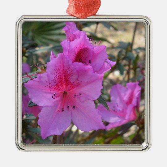 Pink Azaleas Flowers Ornament