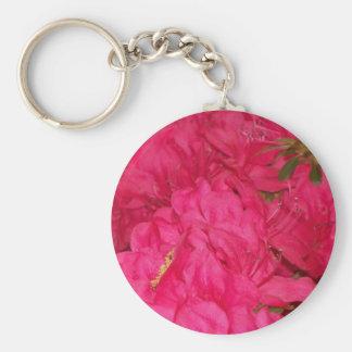 Pink Azaleas Keychain